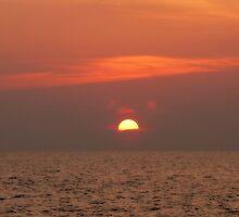 Malaysian Sunset by dozzam