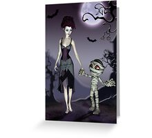 Halloween Love Greeting Card