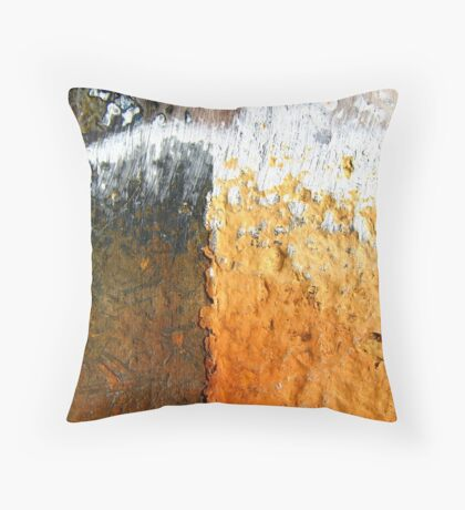 Urban Attrition Throw Pillow
