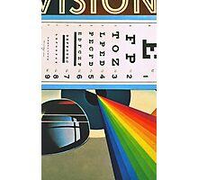 The Horizontal Eye Test. Photographic Print