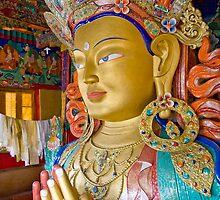 Future Buddha by upadhyay