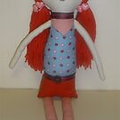 Handmade rag doll - Lydia by Naomi  O'Connor