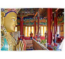 Future Buddha Poster