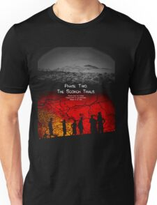 the scorch trials novel Unisex T-Shirt