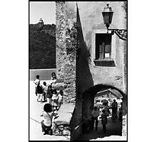 Little village people Photographic Print