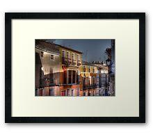 Calle del Caño - Mula (Spain) - (treatment 2) Framed Print