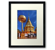 Phrathat Doi Suthep Temple Framed Print