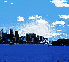 Sydney Harbour from Mosman ferry by Duncan Waldron