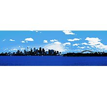 Sydney Harbour from Mosman ferry Photographic Print
