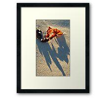 Ragged Framed Print