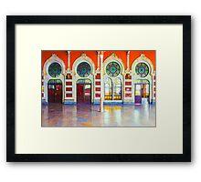 Istanbul Central Station, TURKEY Framed Print