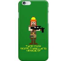 Firefly 8 Bit Thrilling Heroics iPhone Case/Skin