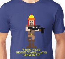 Firefly 8 Bit Thrilling Heroics Unisex T-Shirt