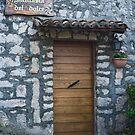 Front Door in Italy by Warren. A. Williams