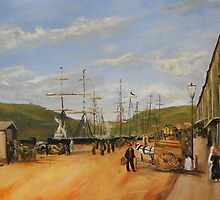 At The Quay from Luigi Loir 1892 by Jsimone
