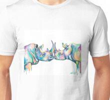 Sumatran Rhinos Unisex T-Shirt