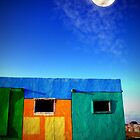 Moon over Rockport by Susan Zohn