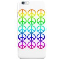 Peace symbol iPhone Case/Skin