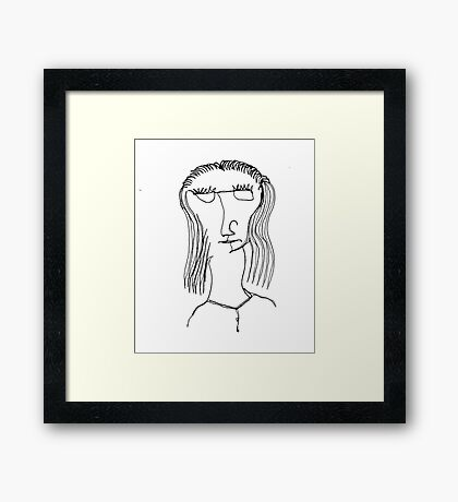 Sheila Framed Print