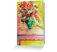Michelangelo's Vase Greeting Card