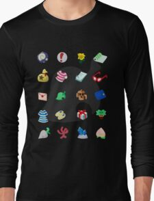 Animal Crossing: Your Pockets Are Full Long Sleeve T-Shirt