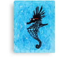 So Cool Stylin' Sea Horse Canvas Print