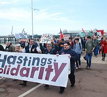 Hastings austerity march by David Fowler