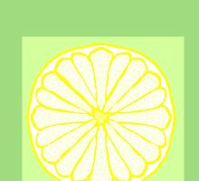 Lovely Lemon on Lime by KazM