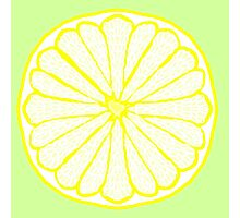 Lovely Lemon on Lime Photographic Print