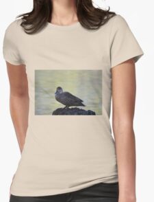 Cute little duck perched on a log T-Shirt