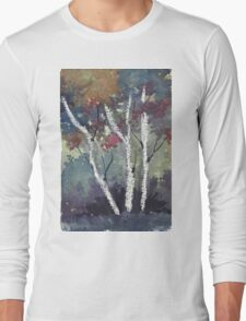 The dark forest  Long Sleeve T-Shirt