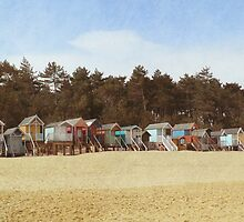Summer Huts by Simone Riley