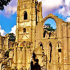 Fountains Abbey III by David Davies