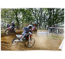 Dirtbike Frenzy Poster