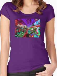 Trey Anastasio 4 - Design 3 Women's Fitted Scoop T-Shirt