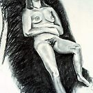 Nude Woman Reclining by Victoria limerick