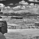 La Sal Mountains from Dead Horse Point by Bryan Peterson