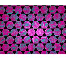 Hexagon Gnarl  Photographic Print
