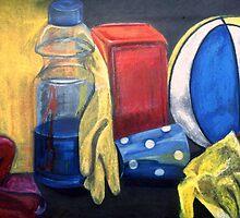 Still Life - chalks & pastels by Victoria limerick