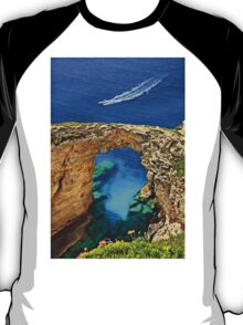 Rocky gate to the Ionian Sea T-Shirt
