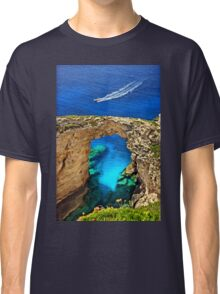 Rocky gate to the Ionian Sea Classic T-Shirt