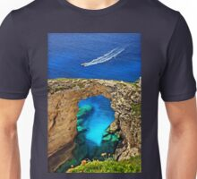 Rocky gate to the Ionian Sea Unisex T-Shirt