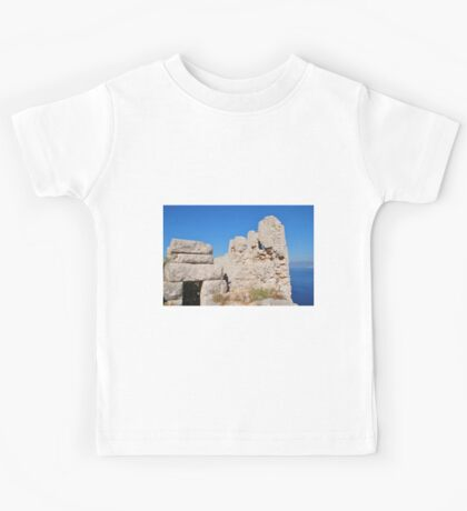 Crusader Knights castle, Halki Kids Tee