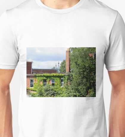 old buliding in Pawcatuck, ct 8-29-2015 Unisex T-Shirt