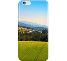 Tipping the scenery iPhone Case/Skin