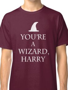 You're a wizard harry - keep calm spoof Classic T-Shirt
