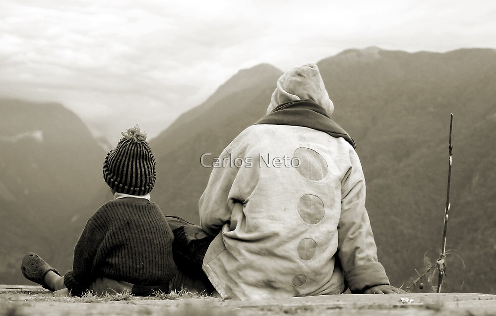 Father and Son by Carlos Neto
