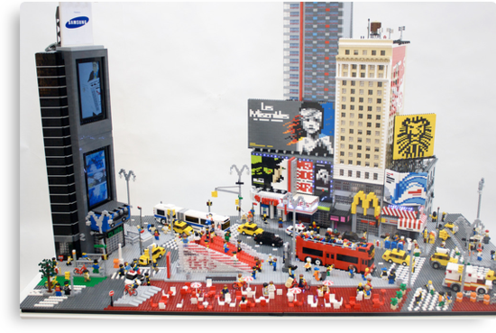 Times Square by Sean Kenney