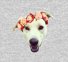 Flower Crown Yellow Lab T-Shirt