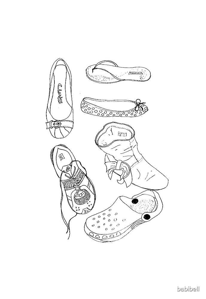 Shoes II by Claire Elford